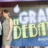 Jordi González y Beatriz Montañez, presentadores de 'El gran debate'