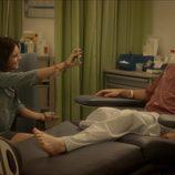 Cristina y Lleó en un flashback de la segunda temporada