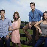 Los jóvenes protagonista del nuevo 'Dallas'