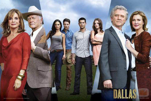Los protagonistas de 'Dallas'