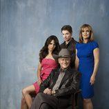 La familia de J.R.