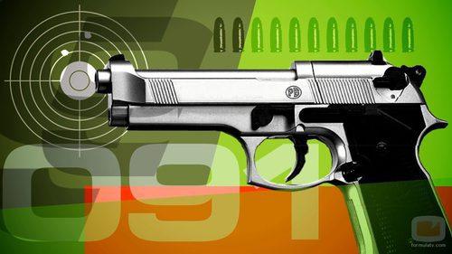 Pistola de 'Policías en acción'