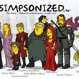 """Personajes de 'Juego de tronos' dibujados al """"estilo Simpson"""""""