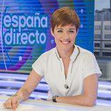 Marta Solano, presentadora de la nueva y renovada edición de 'España directo'