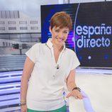Marta Solano en la presentación de 'España directo'