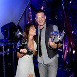 Cory Monteith y Lea Michele, una pareja feliz