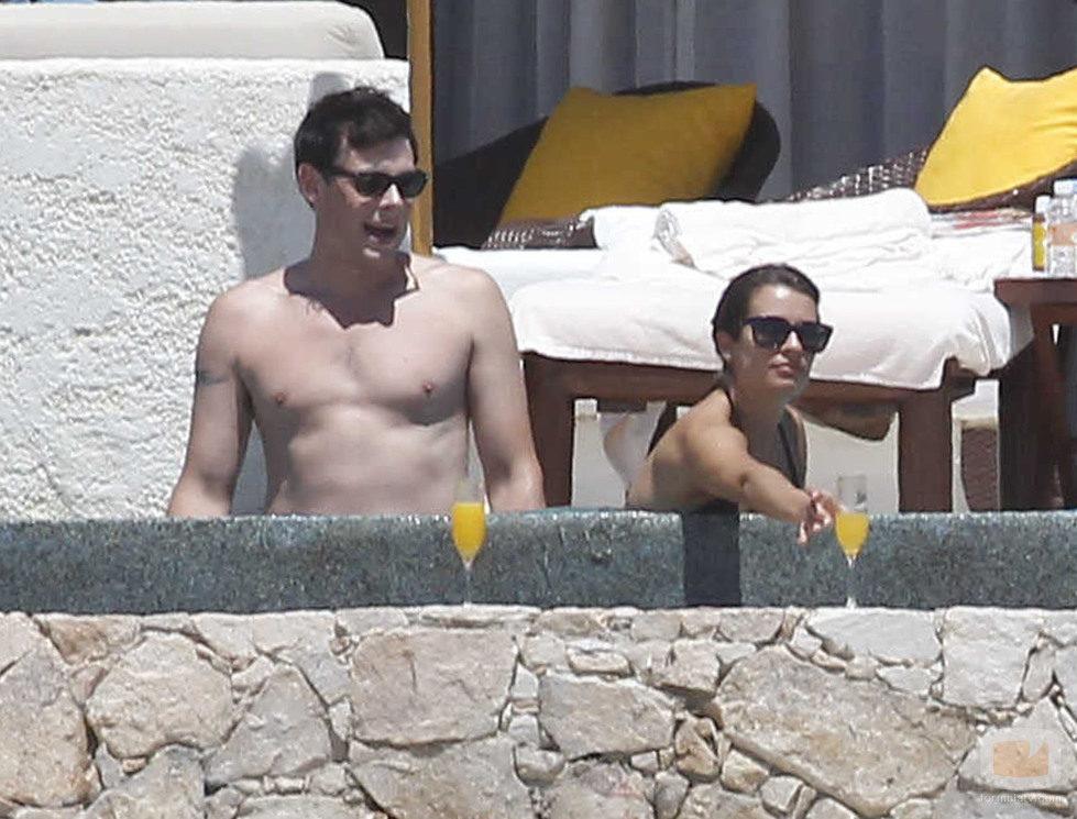 Cory Monteith y Lea Michele de vacaciones