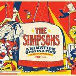 Cartel de la veterana serie 'Los Simpson' para la Comic-Con 2013