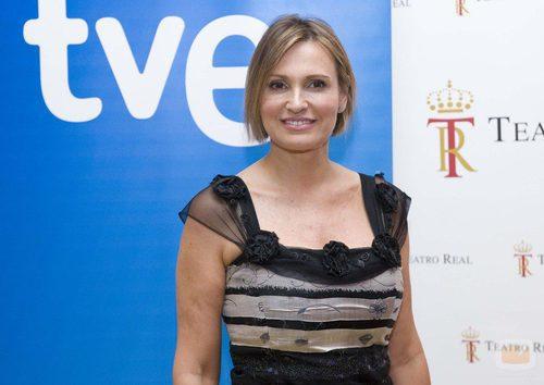 Ainhoa Arteta, presentadora de 'El palco'