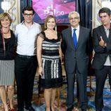 Montse Abbad, Alejandro Flórez, Ainhoa Arteta, Ignacio García-Belenguer y Manel Arranz