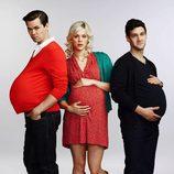 El trío protagonista de 'The New Normal'