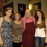 Marta Belmonte, Resu Morales, Sebastián Echevarria y Ana Embid