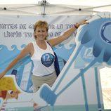 Mercedes Milá posa en Menorca como emblema de la nueva campaña de 12 Meses