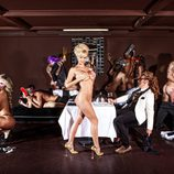 Miriam Sánchez, desnuda en una bacanal veneciana
