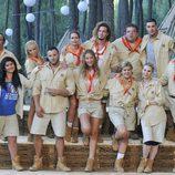 Los concursantes de 'Campamento de verano'