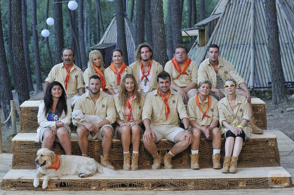 Los 12 exploradores de 'Campamento de verano'