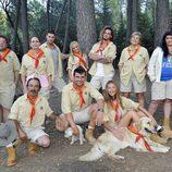 Los exploradores de 'Campamento de verano'