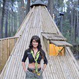Sonia Ferrer en un refugio de 'Campamento de verano'