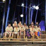 Los concursantes en la primera gala de 'Campamento de verano'