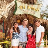 Maia Mitchell, Ross Lynch, Grace Phipps y Garrett Clayton