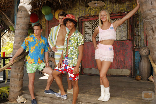Una escena de la película 'Teen Beach Movie'