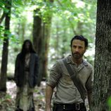 Andrew Lincoln en la cuarta temporada de 'The Walking Dead'