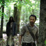 Andrew Lincoln en la cuarta temporada de 'The Walking Dead'