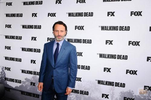 Andrew Lincoln, protagonista de 'The Walking Dead'