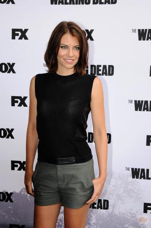 Lauren Cohan, actriz de 'The Walking Dead'