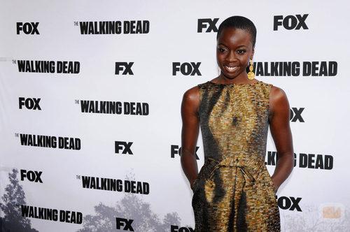 Danai Gurira, actriz de 'The Walking Dead'