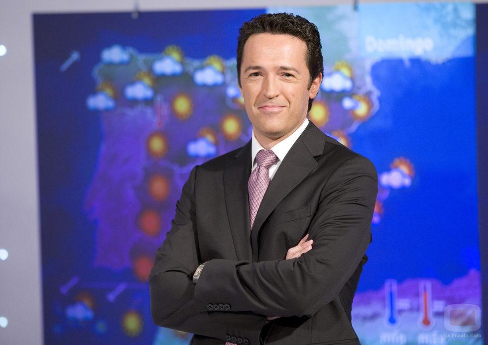 Jacob Petrus, presentador de 'El Tiempo' de 'Telediario Matinal'