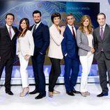 El equipo de 'El Tiempo' de TVE en la Corporación Pública