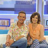 Sandra Barneda y Joaquín Prat en el plató de 'El programa del verano'