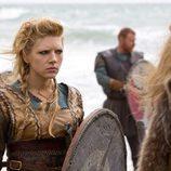Katheryn Winnick es Ladgerda Lodbrok en 'Vikingos'