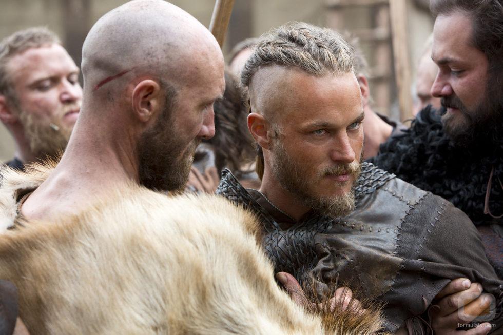 Travis Fimmel en el cuarto episodio de 'Vikingos'