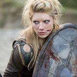 Katheryn Winnick en el cuarto episodio de 'Vikingos'