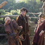 George Blagden es Athelstan en 'Vikingos'