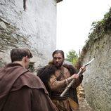 Clive Standen es Rollo en 'Vikingos'