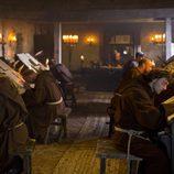Monjes cristianos en 'Vikingos'