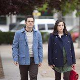 Jorge y Lola en el cuarto episodio de la segunda temporada de 'Frágiles
