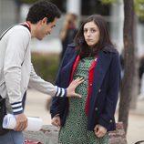 Nacho y Lola en el cuarto episodio de la segunda temporada de 'Frágiles'