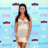 Jenni Farley en los Teen Choice Awards 2013