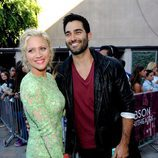 Brittany Snow y Tyler Hoechlin en los Teen Choice Awards 2013