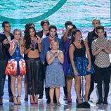 El reparto de 'Glee' en los Teen Choice Awards 2013