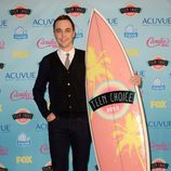 Jim Parsons, premiado en los Teen Choice Awards 2013