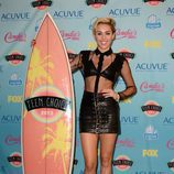 Miley Cyrus, premiada en los Teen Choice Awards 2013