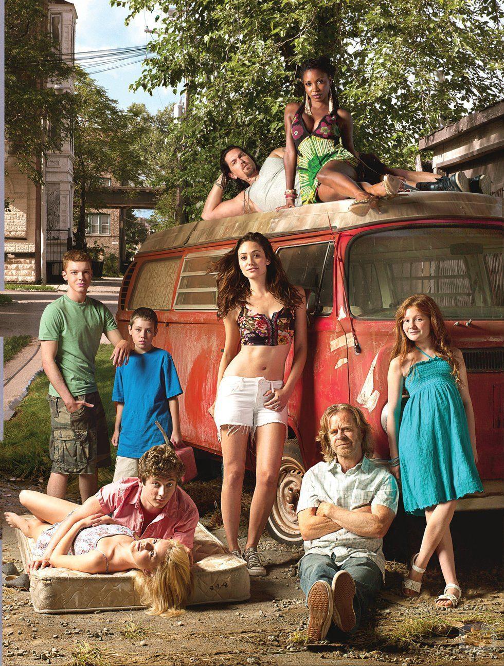 Los protagonistas de la segunda temporada de 'Shameless'