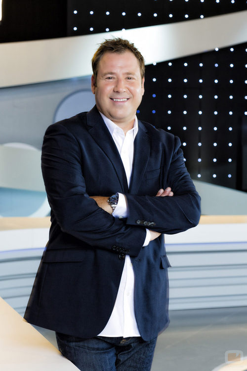 Enrique Marqués, presentador de 'Tiki-Taka'
