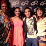 Los concursantes de 'El Número Uno' en la sala 40 Café de Madrid