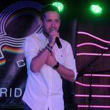 Josh ('El número uno') en el concierto de la sala 40 Café de Madrid